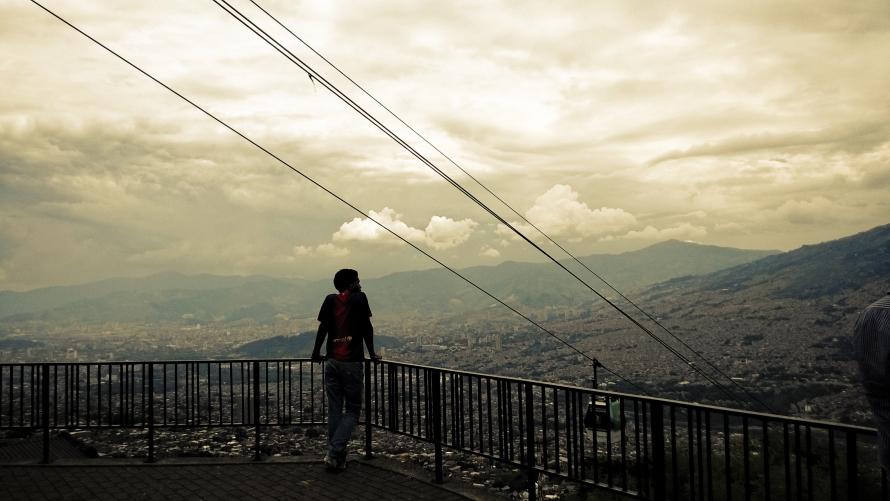 Pensar la ciudad en Medellín, Colombia.